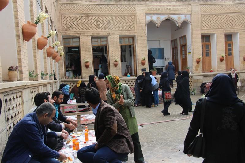 بازدید از خانه تاریخی محسنی بهبهان / گزارش تصویری